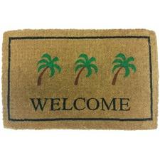 Welcome Palms Coir Doormat