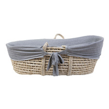 ChildHome Cotton Jersey Moses Basket Cover