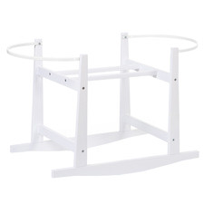 ChildHome Pine Wood Rocking Stand for Moses Basket