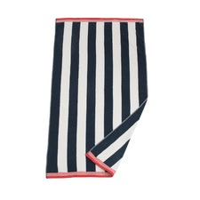 Navy Riviera Beach Towel
