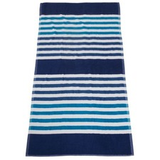 Royal Seaside Stripe Beach Towel