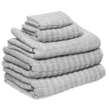 Conran Soho Soft Grey 5 Piece Towel Pack