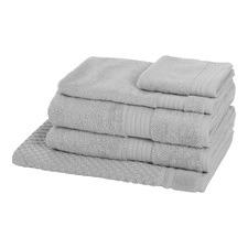 Morrissey Designer Silver Egyptian 5 Piece Towel Pack