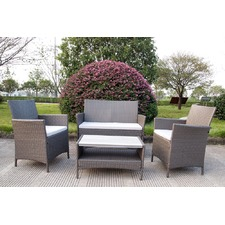 4 Seater Ravello Polywood Outdoor Sofa Set
