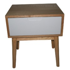 Annika Scandinavian Side Table with Drawer