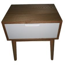 Alida Scandinavian Side Table with Drawer