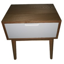 Annika Scandinavian Side Table with Drawer