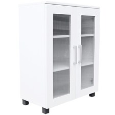 White Aspen 2 Door Low Cupboard