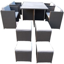 8 Seater Messina Polywood Outdoor Dining Set