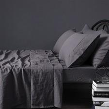 Slate Linen Sheet Set