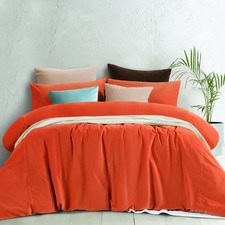 Nectar Velvet Euro Pillowcase