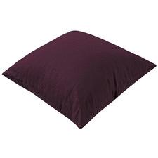 Merlot French Linen European Pillowcase