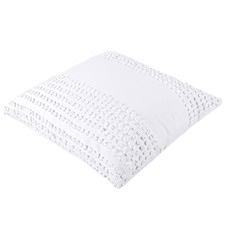 White Betty Cotton European Pillowcase