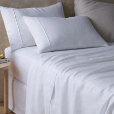White Hemp Sheet Set