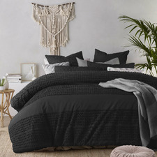 Black Betty Cotton Quilt Cover Set