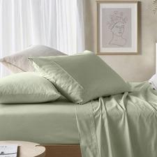 Solid Eucalyptus & Cotton Sheet Set