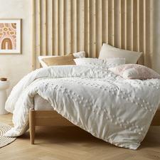 Off-White Sanc Sovci Cotton Quilt Cover Set