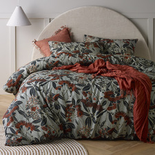 Banksia Printed Linen & Cotton Quilt Cover Set