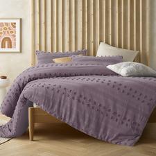 Lilac Sanc Sovci Cotton Quilt Cover Set