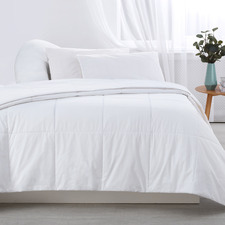 White Cotton All Seasons Quilt