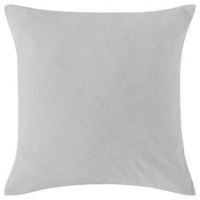 Dove Grey Cotton European Pillowcase