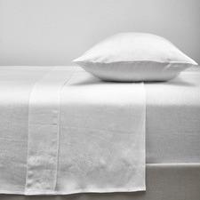 White French Linen Sheet Set