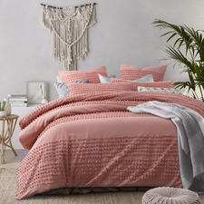 Clay Betty Cotton Quilt Cover Set