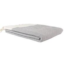 Grey Diamond Turkish Towel