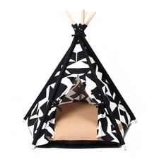 White Tip Pet Teepee Tent