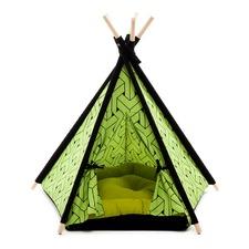 Green Pet Teepee Tent