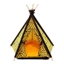 Mustard Pet Teepee Tent