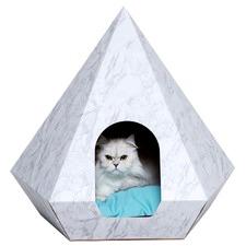 Marble Cat Diamond Capsule
