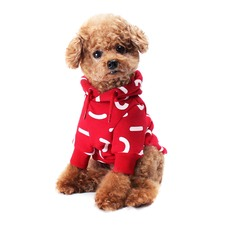 Red Jelly Dog Hoodie
