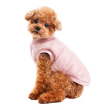 Sleek Pink Dog Vest