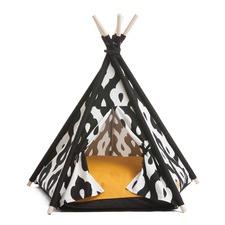 Gusto Black Pet Teepee Tent