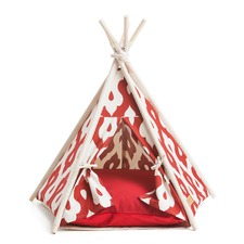 Gusto Red Pet Teepee Tent
