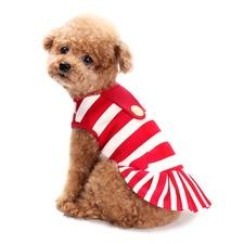 Red Mariniere Dress