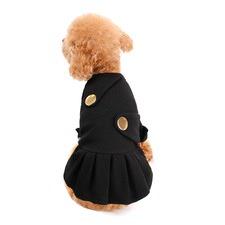 Black Double Backed Blazer Dress