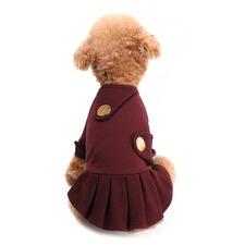 Burgundy Double Backed Blazer Dress