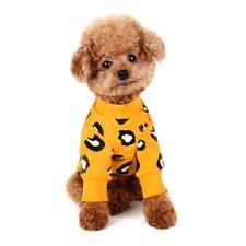 Leopard Yellow Sweatshirt