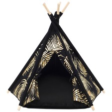 Gold & Black Leaf Limited Edition Teepee Tent
