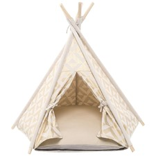 Gold & Ivory Geo Limited Edition Teepee Tent