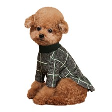 Check Dog Dress