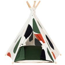 Khaki Art Pet Teepee Tent