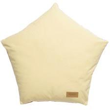 Yellow Peach Cat Diamond Cushion
