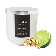 Spiced Lime & Sandalwood Large Candle Refill