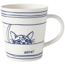 450ml Ellen DeGeneres Porcelain Cat Mug (Set of 2)
