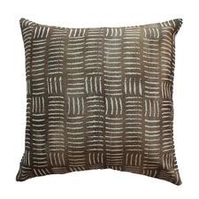 Mud Basketweave Cushion