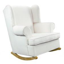 Georgetown Bone & Natural Rocking Chair