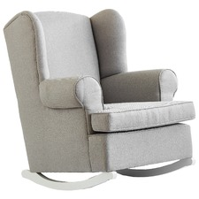 Georgetown Cement & White Rocking Chair
